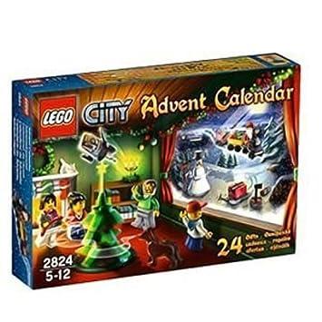 Calendrier Avent Lego City.Lego 2824 Jeu De Construction Lego City Le Calendrier De L Avent Lego City