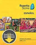 Rosetta Stone Spanish (Latin America) Level 1-3 Set [Download]