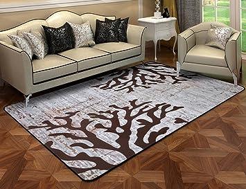 Qiangzi Moderne Hochwertige Teppiche European Style Wohnzimmer Teppich /  Schlafzimmer Bedside Tee Tischmatte Haushalt Rechteck