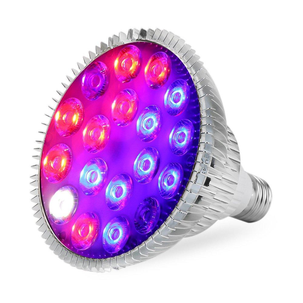 Led Para Crece Lámpara Cultivo Liviano 54w Spectrum De Full 9eDYbWEIH2