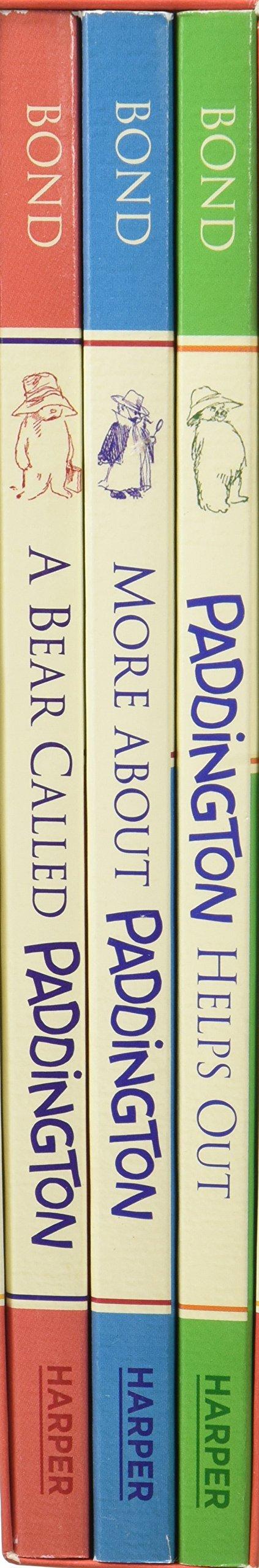 Paddington Classic Adventures Box Set  A Bear Called Paddington More About Paddington Paddington Helps Out
