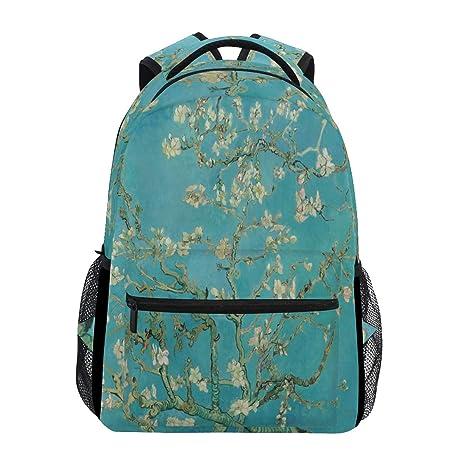 7c3967ecbf7a Amazon.com: Van Gogh Almond Blossoms Laptop Backpack, Water ...