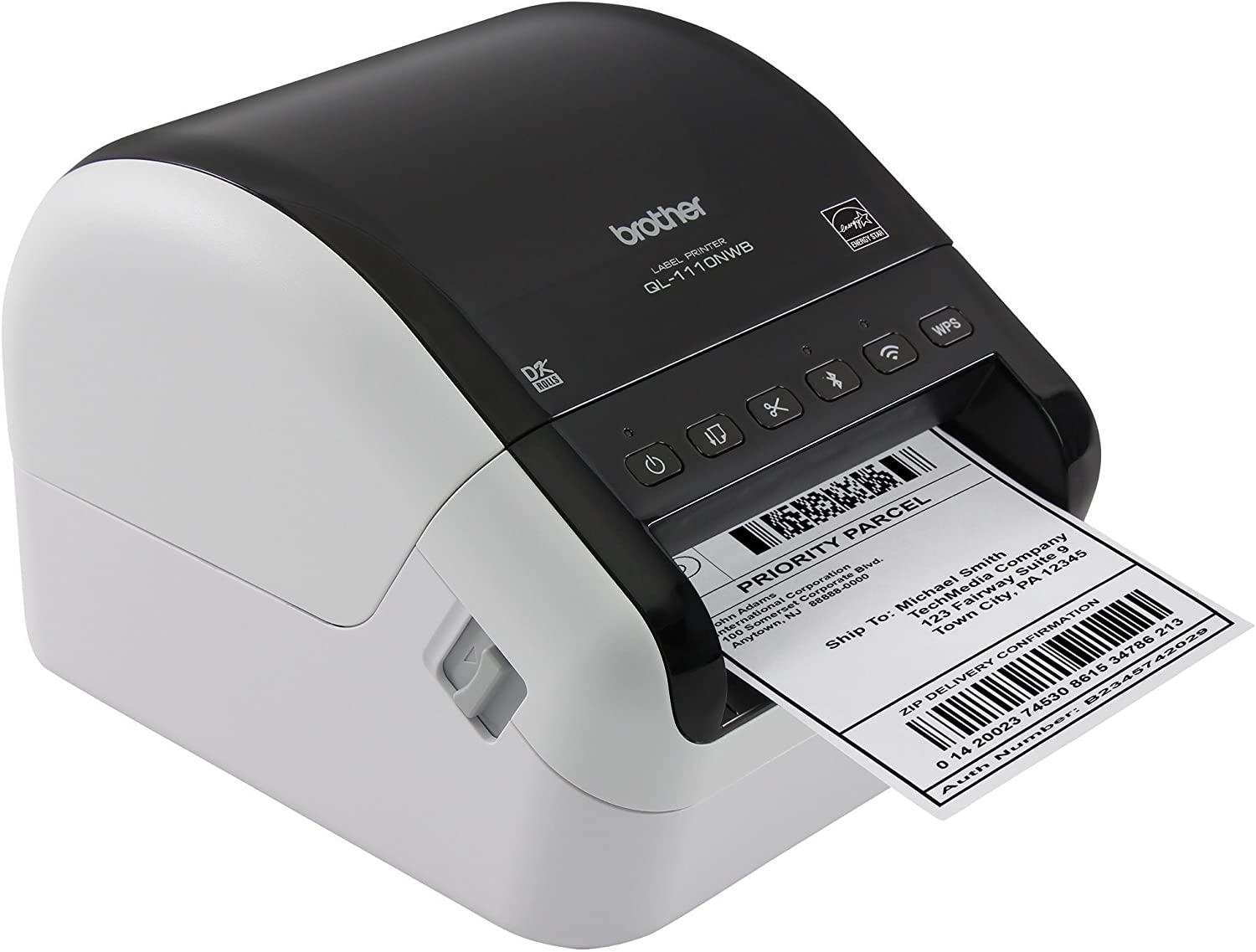 Amazon.com: Brother QL-1110NWB Impresora de etiquetas ...