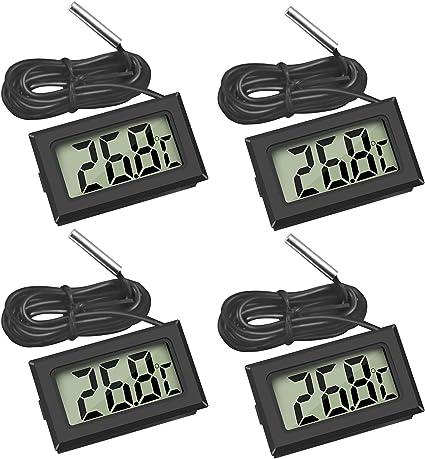 Digitalthermometer LCD-Thermometer Thermometer Digital Neu Großes LCD 1 Stück