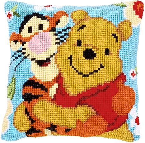 Vervaco - Kit para cojín de Punto de Cruz: Winnie y Tigger ...