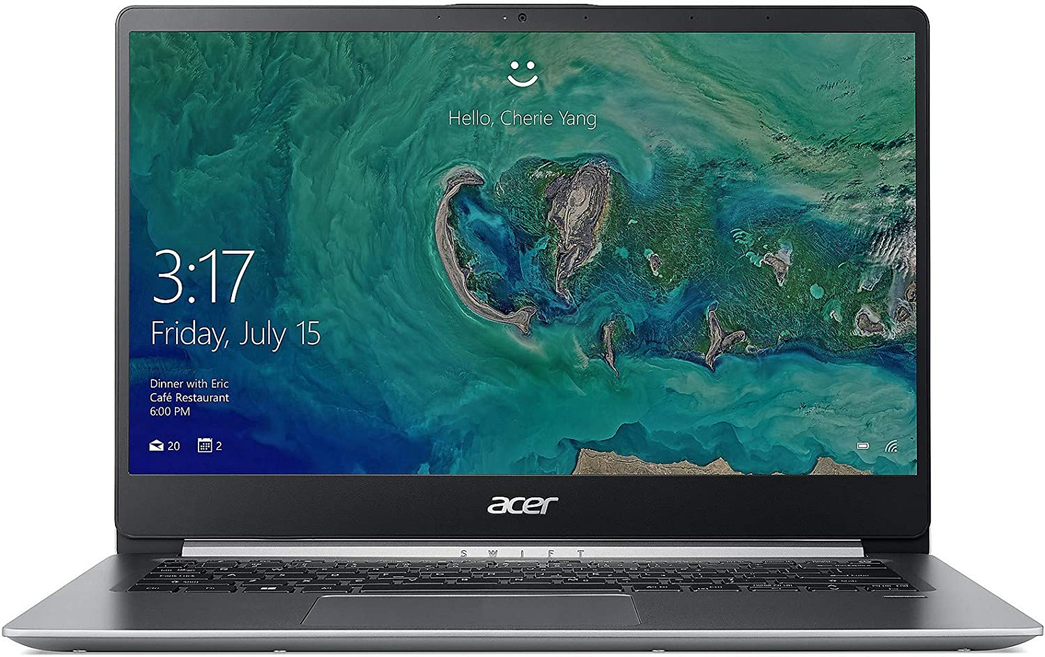 "Acer Swift 1, 14"" Full HD Notebook, Intel Pentium Silver N5000, 4GB, 64GB HDD, SF114-32-P2PK"