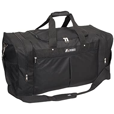 Everest Luggage Travel Gear Bag - Xlarge, Black, One Size