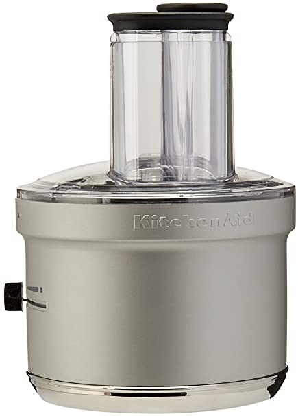 Amazon.com: KitchenAid KSM2FPA Food Processor Attachment with ... on waring commercial mixer, commercial kitchen mixer, univex commercial mixer, globe commercial mixer, viking commercial mixer, general electric commercial mixer, wolfgang puck commercial mixer, smallest commercial mixer, cake stores commercial mixer, axis commercial mixer,