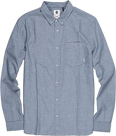 Element Camisa Oxford Navy NV: Amazon.es: Ropa y accesorios