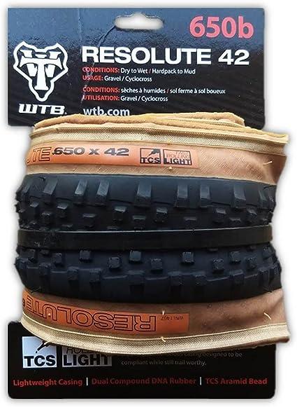 Black WTB Resolute TCS Light Fast Rolling Tire Folding Bead 700 x 42