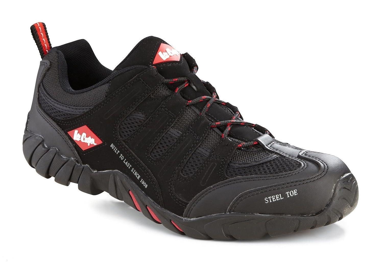 Lee Cooper , Chaussures de sécurité pour homme Noir noir