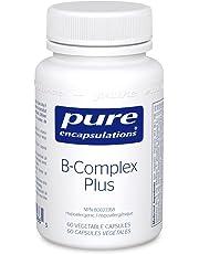 Pure Encapsulations - B-Complex Plus - Hypoallergenic B Vitamin Formula - 60 Vegetable Capsules