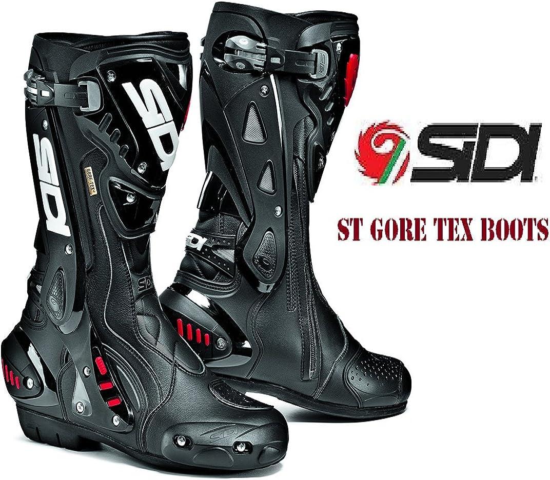 Sidi ST Bottes de Moto 46 Noir