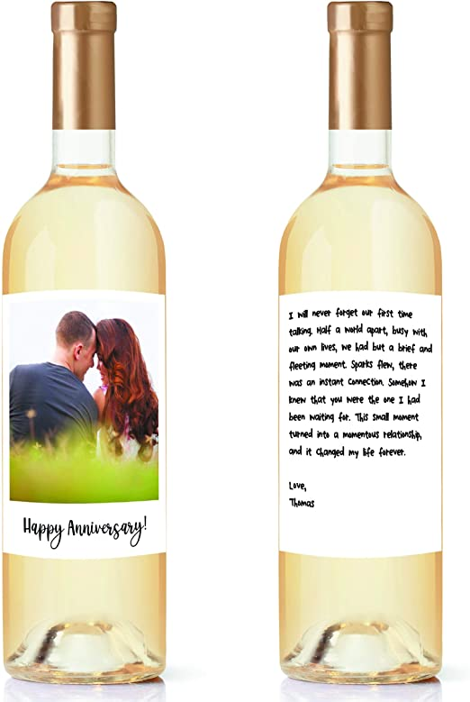 Wedding Gifts Bridal Shower Gifts Custom Photo  Engagement Wedding Wine Label Engagement gifts Personalized Photo Engagement gift