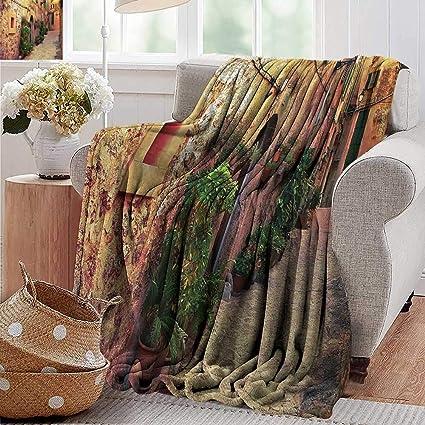Amazon.com: PearlRolan Summer Blanket,Wanderlust Decor ...