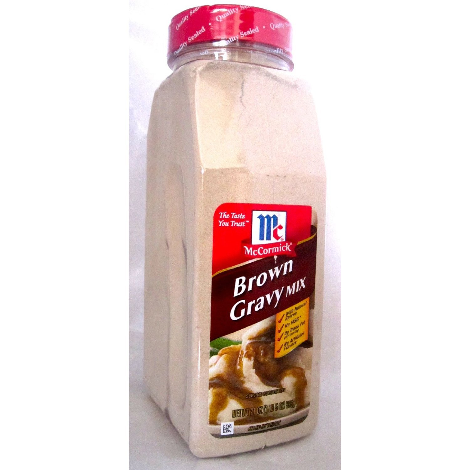 McCormick Brown Gravy Mix - 21 oz. (4 PACK)