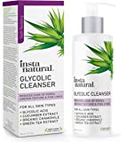 Glycolic Facial Cleanser - Anti Wrinkle, Fine Line, Age Spot & Hyperpigmentation Face Wash - Clear Dead Skin & Pores…