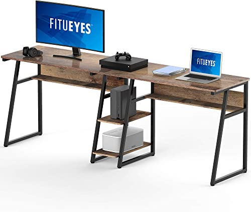 FITUEYES Double Computer Desk