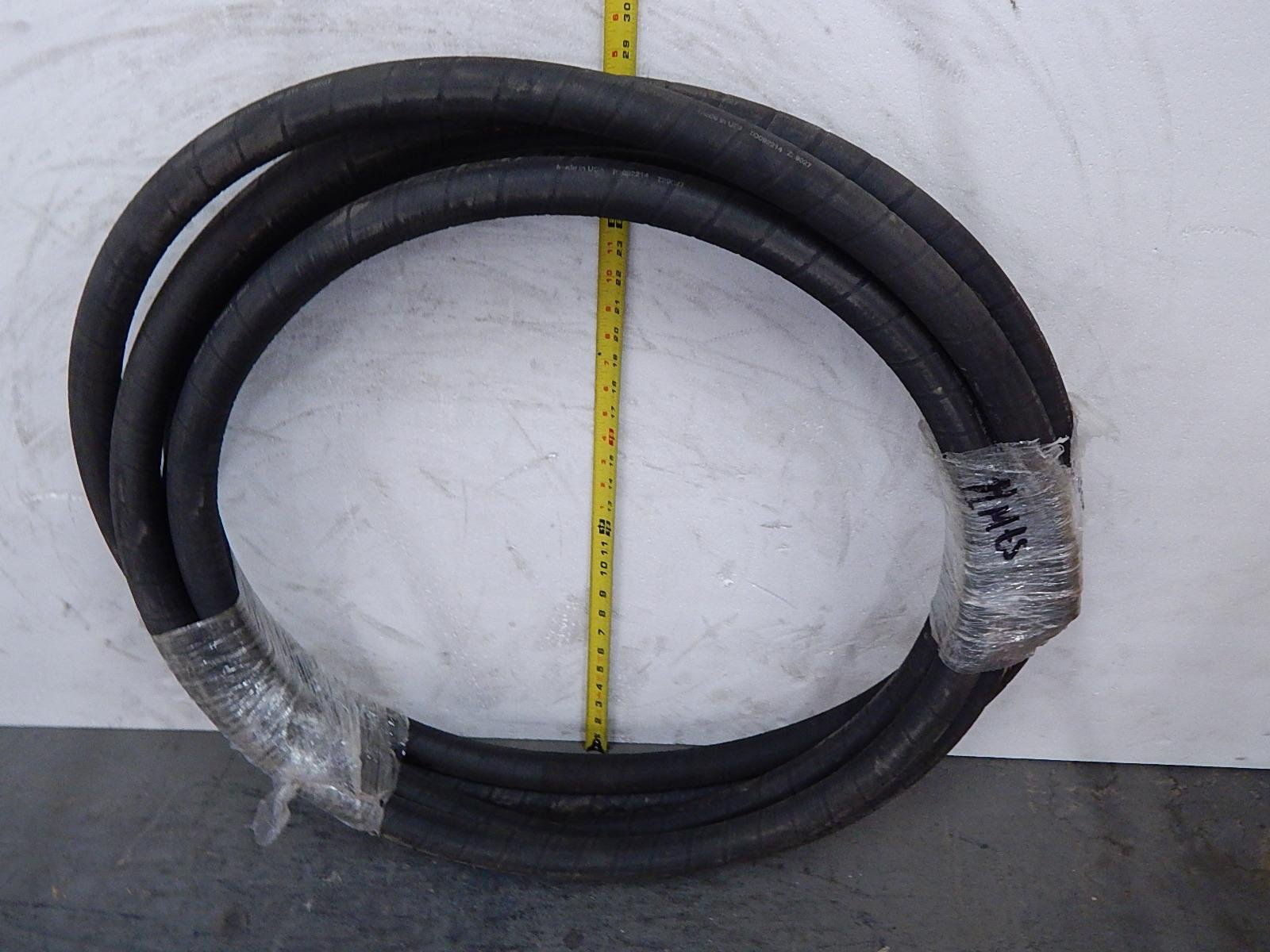 Gates 16CPB-MTF, 2G-IC-11C 1 In 3775 Psi Megatuff Coal Powerbraid Flame Resistant Hydraulic Hose 50 Ft T103915