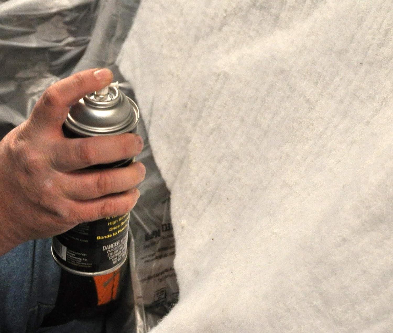 Amazon.com: Adhesivo transparente en spray para alta ...