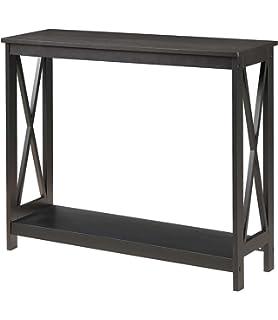Convenience Concepts Oxford Console Table, Black