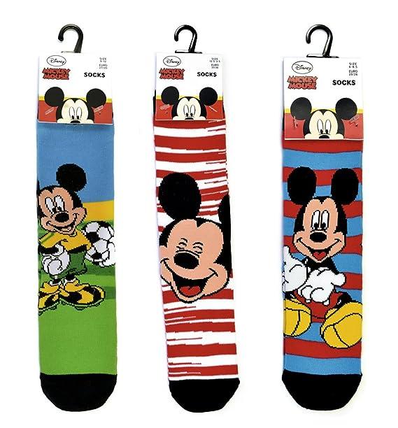 Niños Calcetines, diseño de patrón de Mickey Mouse de Disney