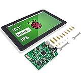 "Raspberry Pi 10 Inch Touch Screen - SunFounder 10.1"" HDMI 1280x800 IPS LCD Touchscreen for RPi 400 4 Model B 3 Model B+ 3B 2B"