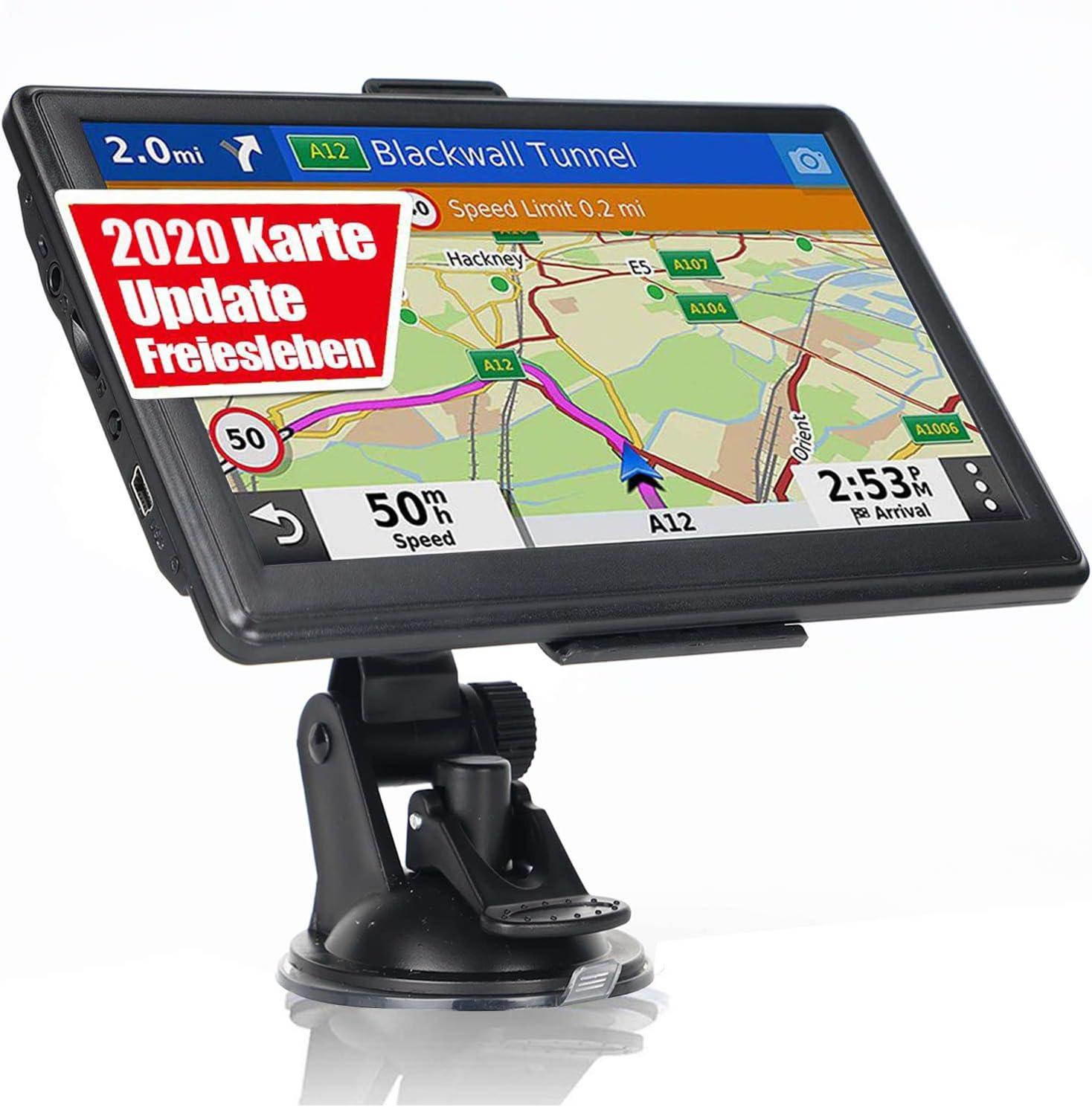 Gratis de Pop de actualizaci/ón Disponible e coche soporte de tarjeta camper bicicleta 46 Europa pa/íses de Europa con Russia y turquesa autob/ús 10,92 cm GPS navegador GPS incluye parasol para cami/ón o en modo peatonal...