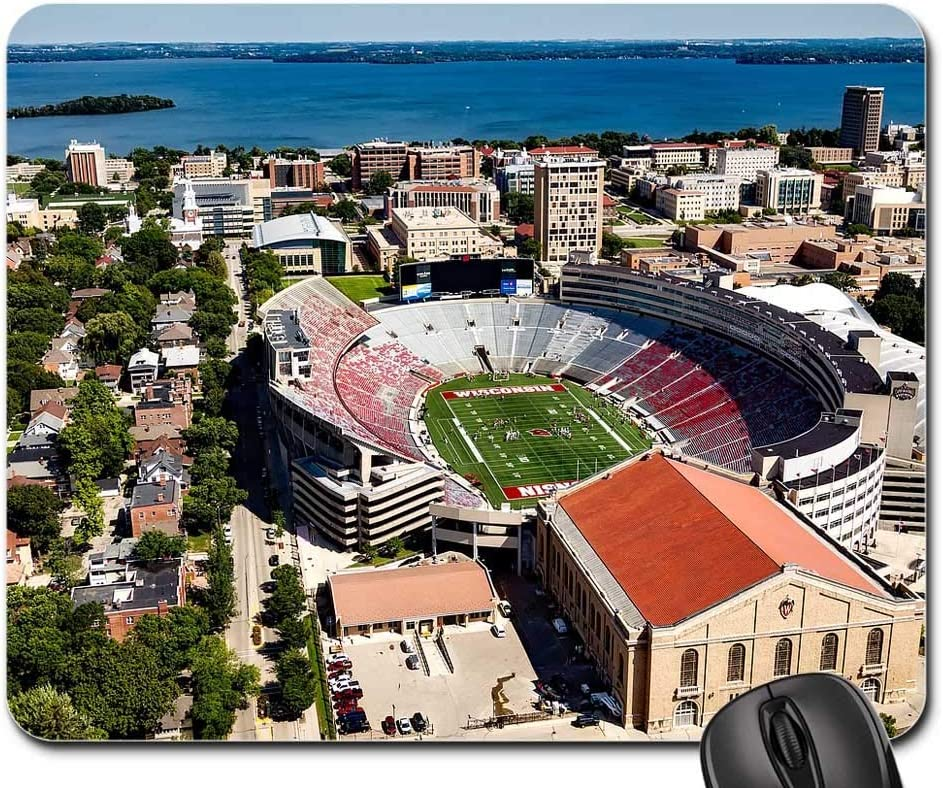 SYMSPAD Mouse Pad 8.6 X 7.1 in Madison Wisconsin University of Wisconsin