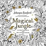 #9: Magical Jungle 2018 Wall Calendar: An Inky Expedition and 2018 Coloring Calendar