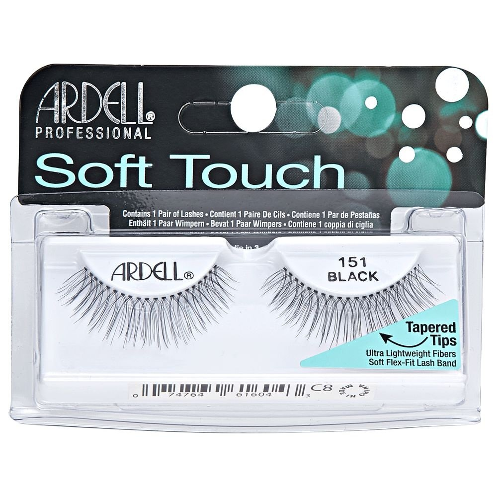 Ardell Soft Touch Eye Lashes 151 Black