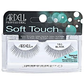 bdc740b0fb2 Amazon.com : Ardell Elegant Eyes, Romantic Black, 1 Pair : Fake Eyelashes  And Adhesives : Beauty