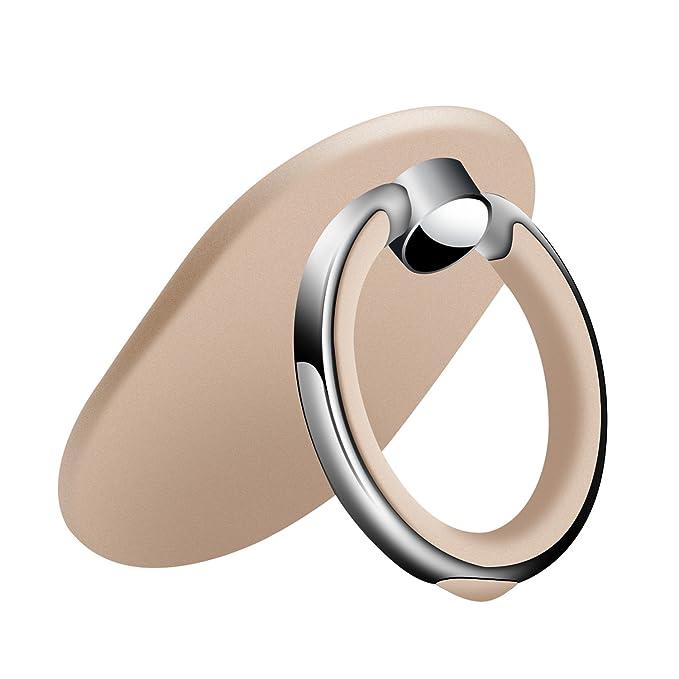 4 opinioni per Kamikey, supporto ad anello per telefono cellulare, ruota a 360°, anello per