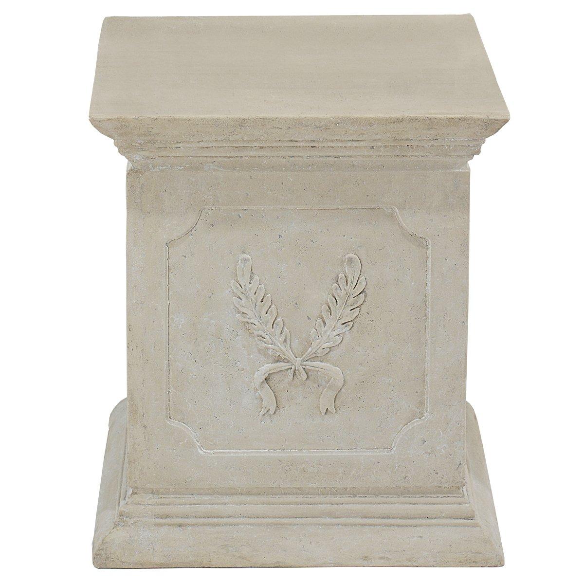 Design Toscano Laurel Pedestal by Design Toscano