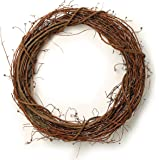 "Darice 2802-75 Grapevine Wreath 24"""