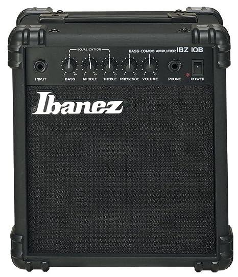Ibanez IBZ10B - Combo de amplificador para bajo (10W ...