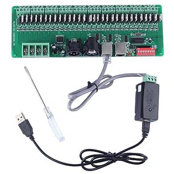 Amazon.com: 30 channel Easy DMX rgb LED strip controller dmx512 ...
