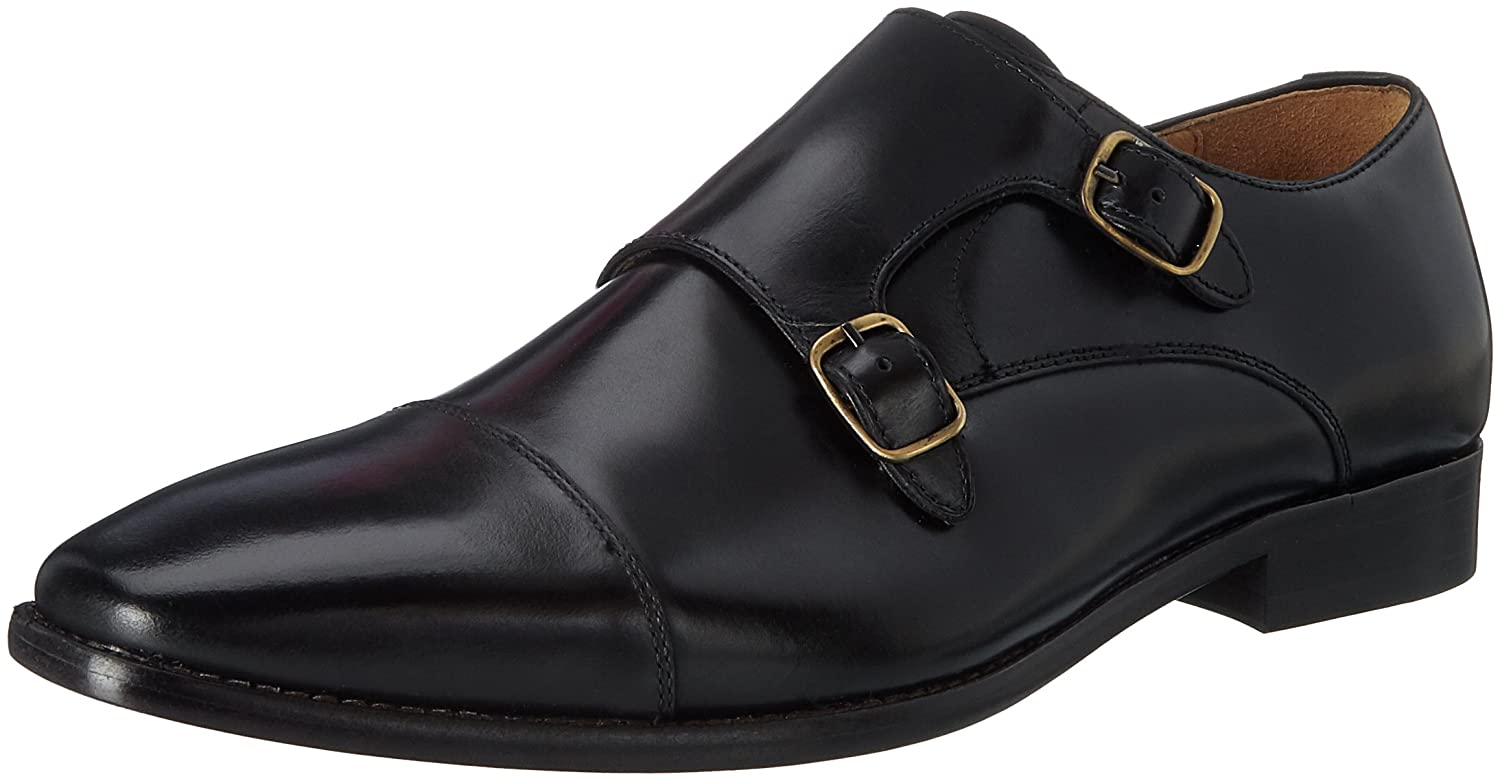 Aldo Zefirino, Mocasines para Hombre 44 EU|Negro (Black Leather)