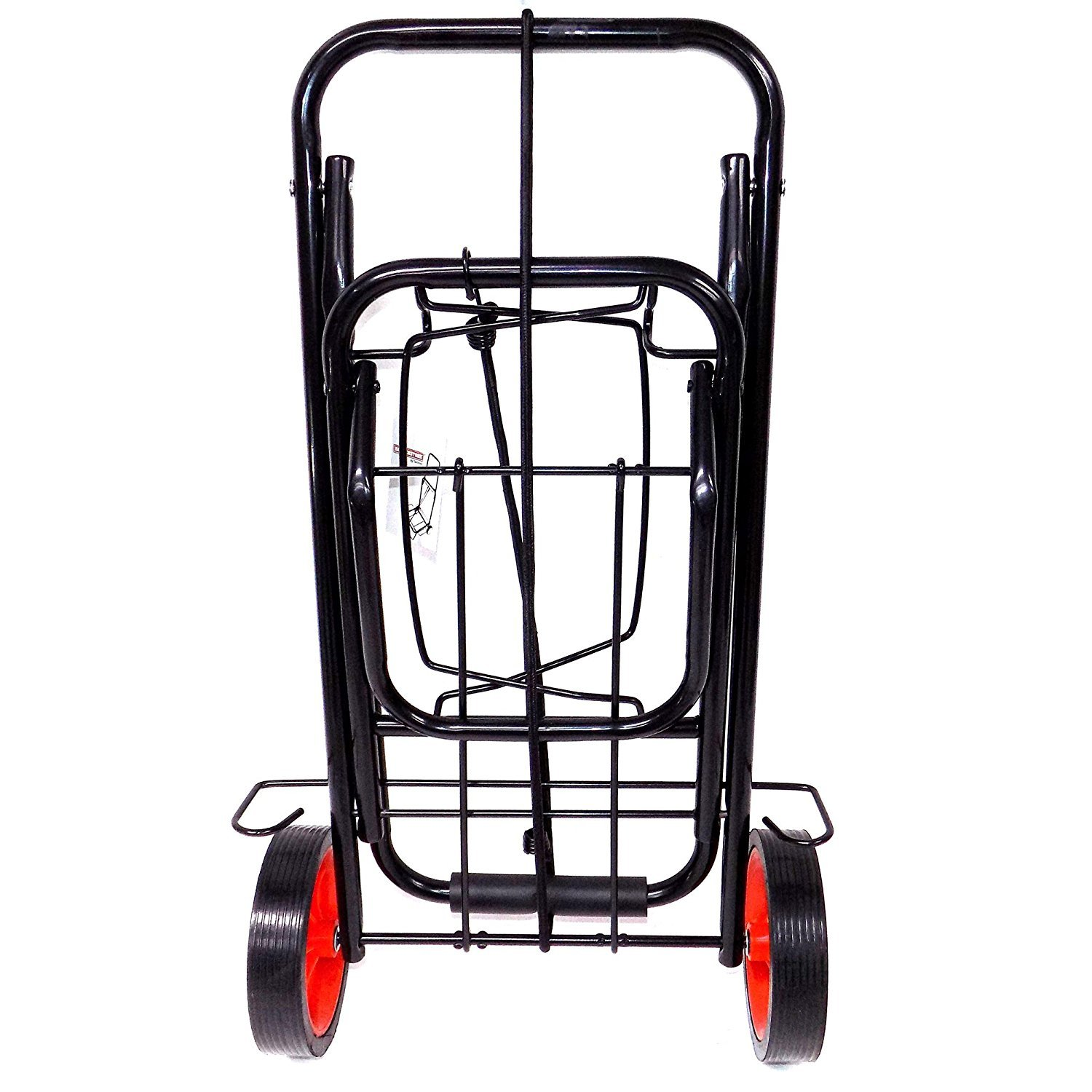 Portable Folding Luggage Cart, Lightweight Metal Carry Tool Travel Luggage Cards by THE UM24 (Image #2)