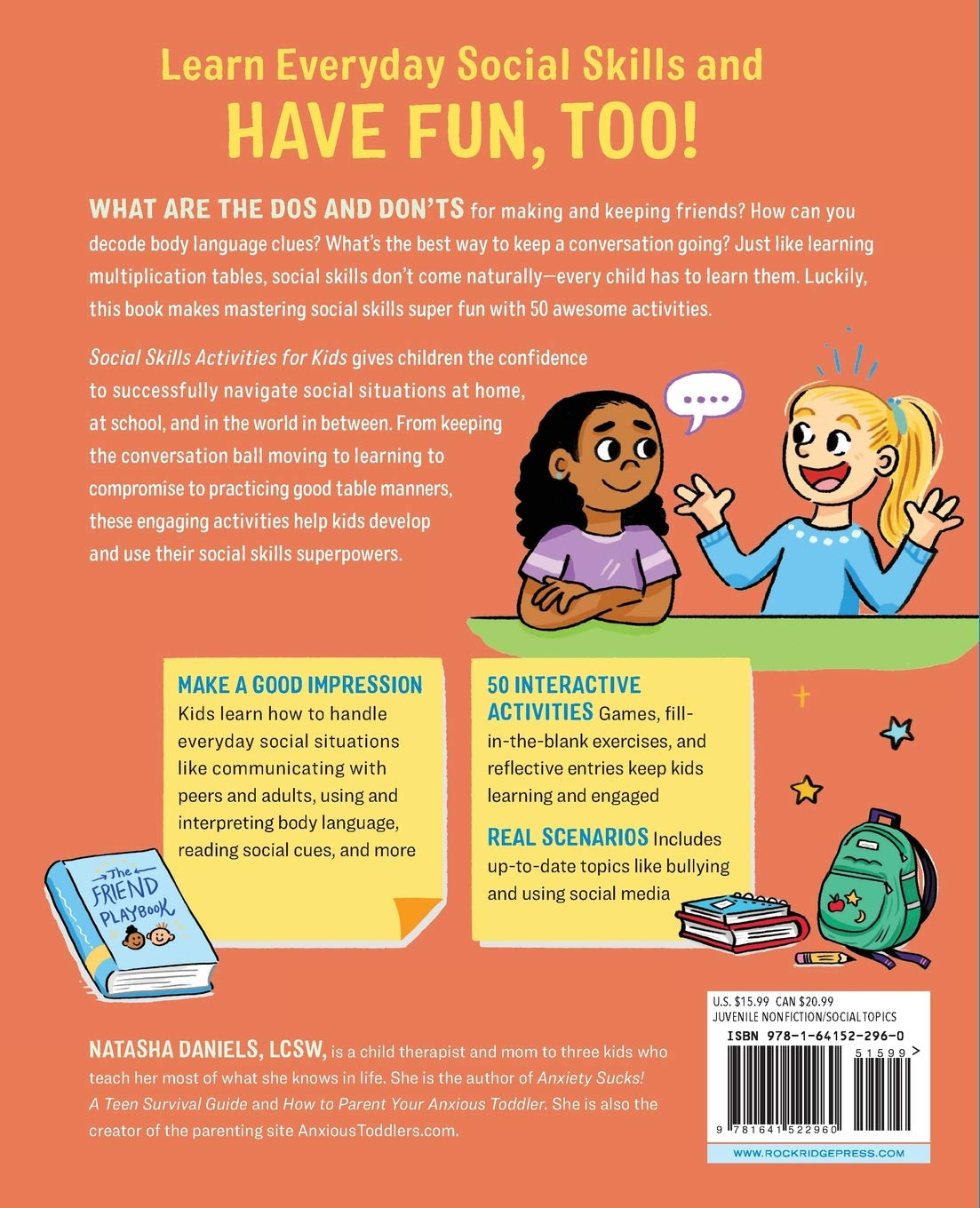 Social Skills Activities for Kids: 50 Fun Exercises for