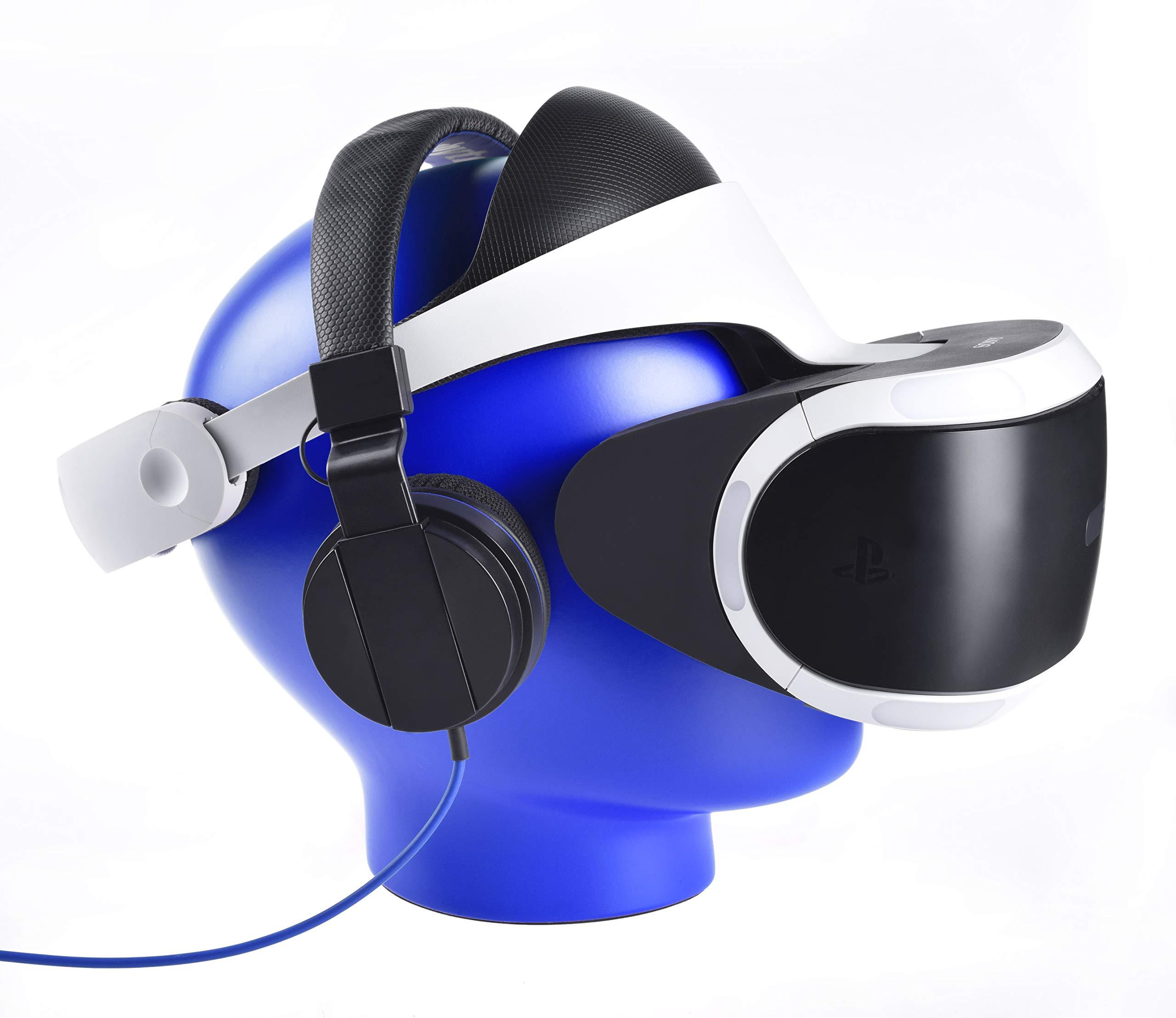 Soporte de almacenamiento / soporte para auriculares Snakebyte, soporte de visualización de auriculares de realidad virtual para sus gafas de realidad virtual - compatible con HTC Vive, auriculares Oculus Rift, PlayStation 4