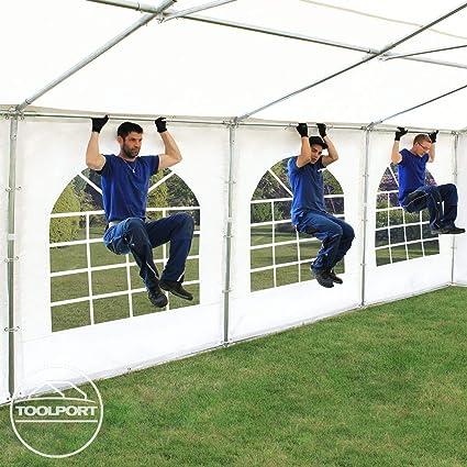 TOOLPORT Carpa de Fiesta 3x4 m Lona PVC 500/m² 100% Impermeable ...