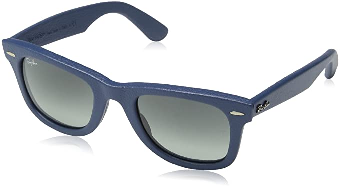 cac84cd1a2 Ray Ban Wayfarer, Gafas de Sol Polarizado Unisex, Azul (Blau/Grau verlauf  116871), 50: Amazon.es: Ropa y accesorios