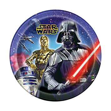 Star Wars Dinner Plates 8ct  sc 1 st  Amazon.ca : dinner plates canada - pezcame.com