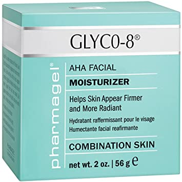 Glyco-8 Moisturizer By Pharmagel - 2 Ounces Burts Bees Beeswax Lip Balm with Vitamin E & Peppermint  0.15 oz (Pack of 2)