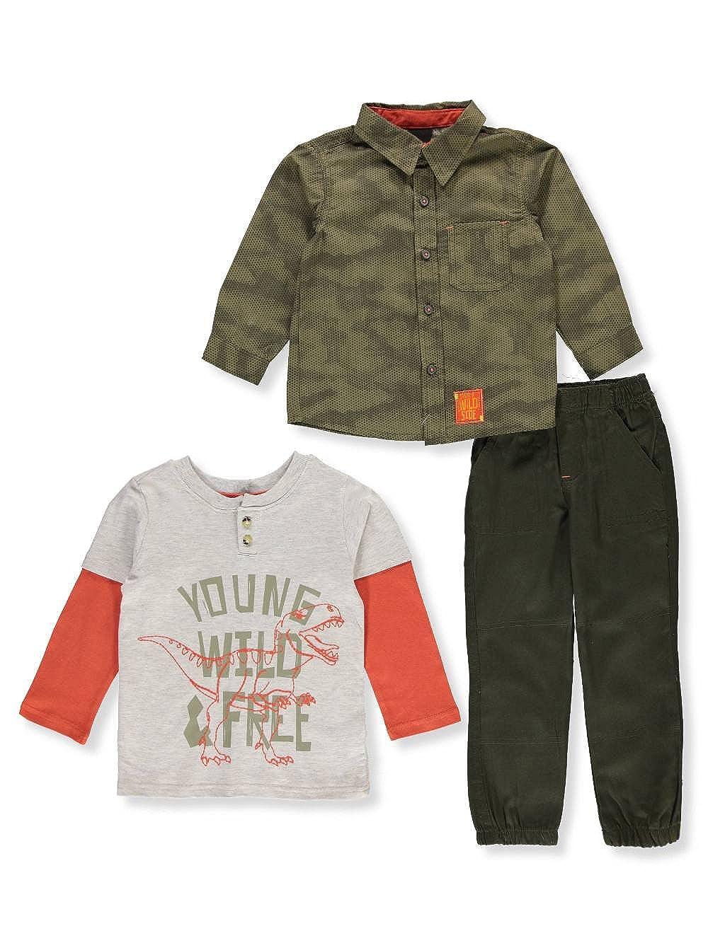 Little Rebels Boys' 3-Piece Pants Set Outfit