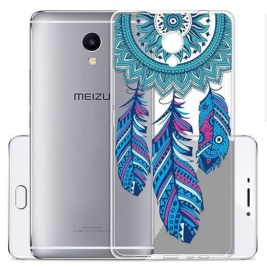 5 opinioni per Cover Per Meizu M5S 5,2 pollici,Sunrive® Custodia Case in molle Trasparente TPU