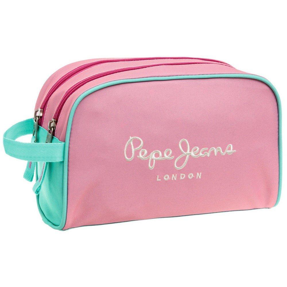 Pepe Jeans Bicolor Neceser de Viaje, 4.99 litros, Color Rosa ...
