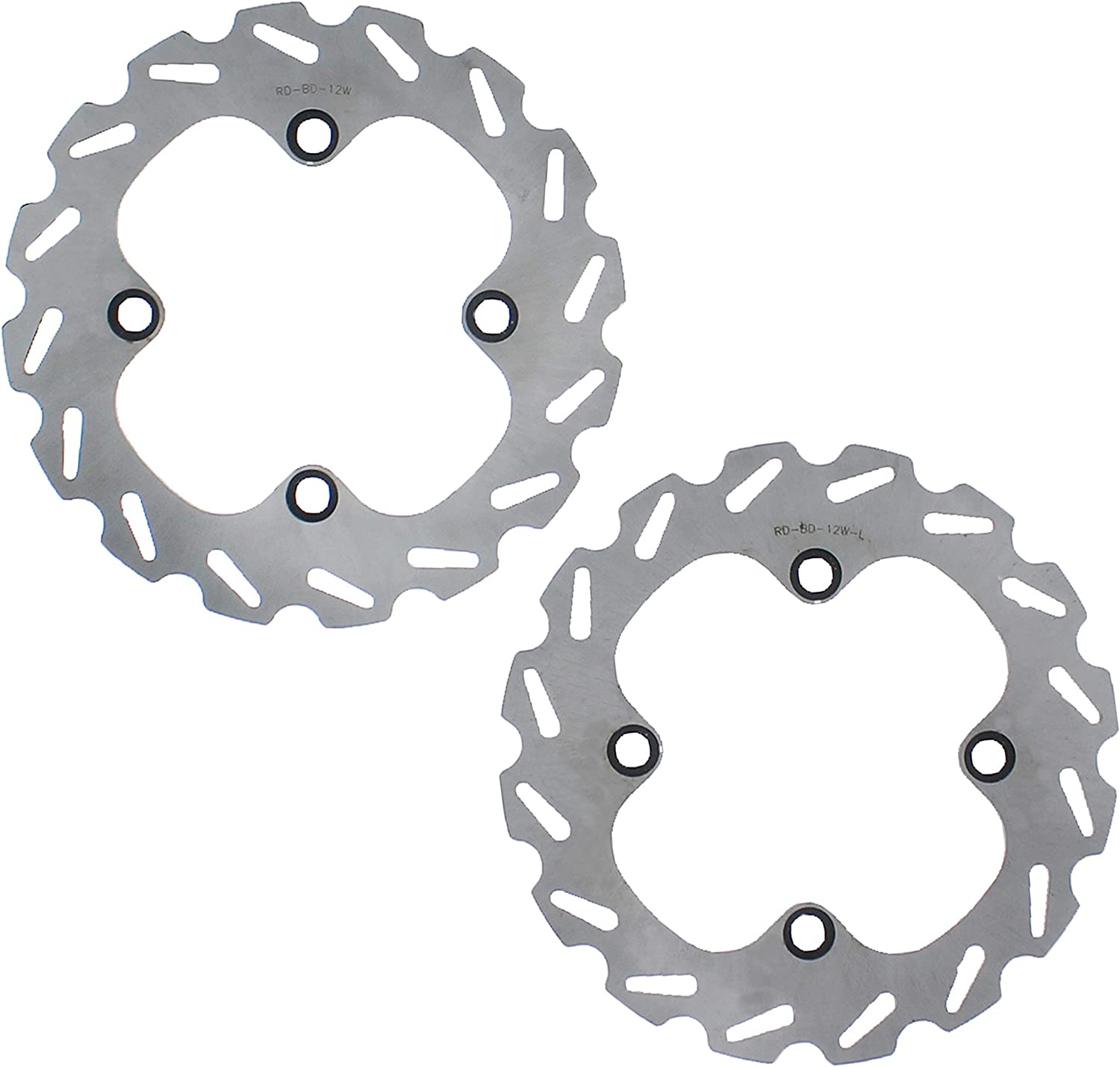 Brake Rotors Discs for Yamaha 700 Grizzly YFM700 2007-2017 Front MudRat Brakes