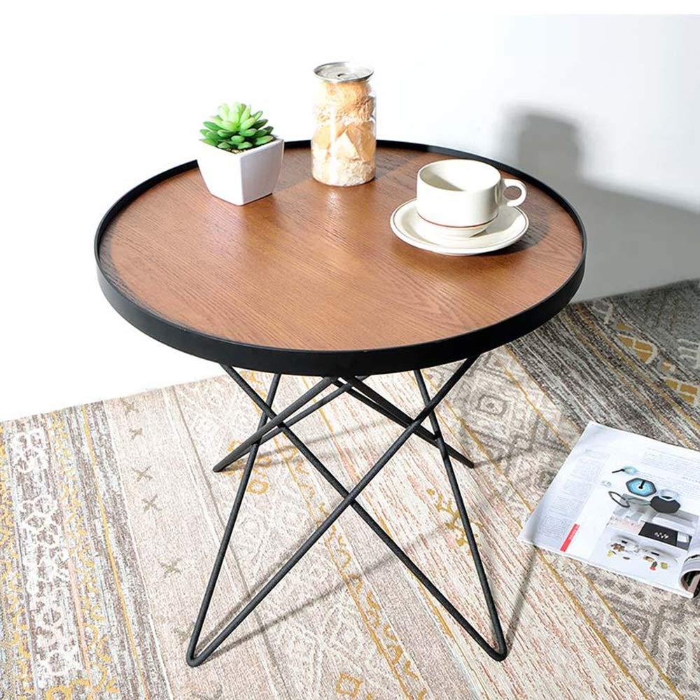 Amazon.com: Mesa auxiliar de HANSHAN, mesa auxiliar ...